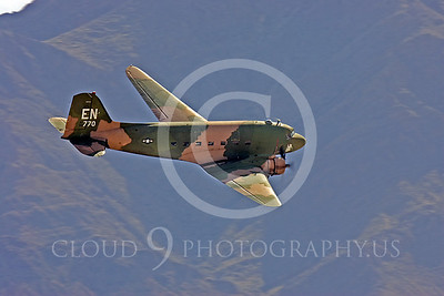 WB-C-47 00038 Douglas AC-47 Skytrain by Peter J Mancus