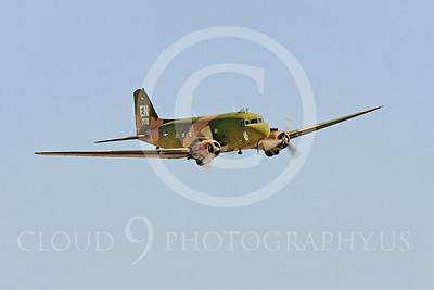 WB-C-47 00008 Douglas AC-47 Skytrain by Peter J Mancus