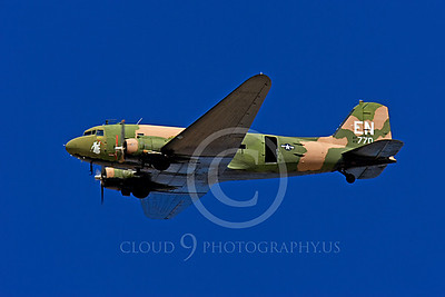 WB-C-47 00002 Douglas AC-47 Skytrain by Peter J Mancus