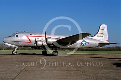 WB - Douglas C-54 Skymaster 00001 Douglas C-54 Skymaster by Peter Elliott