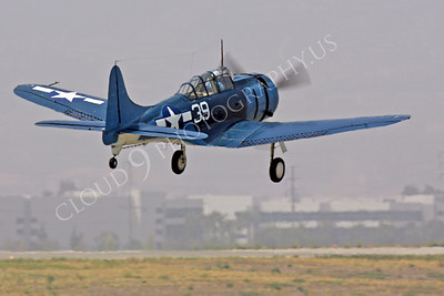 WB - Douglas SBD Dauntless 00048 Douglas SBD Dauntless US Navy World War II dive bomber warbird by Peter J Mancus