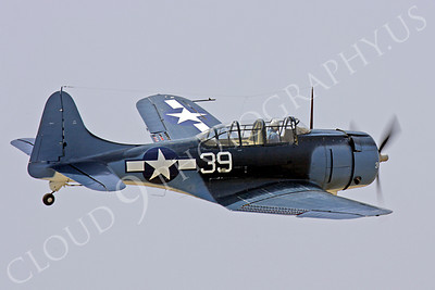 WB - Douglas SBD Dauntless 00020 Douglas SBD Dauntless US Navy World War II dive bomber warbird by Peter J Mancus