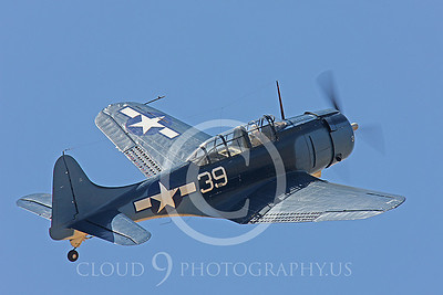 WB-SBD Dauntless 00012 Douglas SBD Dauntless US Navy by Peter J Mancus