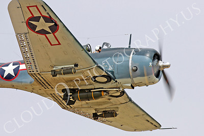 WB - Douglas SBD Dauntless 00054 Douglas SBD Dauntless US Navy World War II dive bomber warbird by Peter J Mancus
