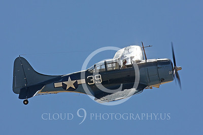 WB-SBD 00052 Douglas SBD Dauntless US Navy by Peter J Mancus