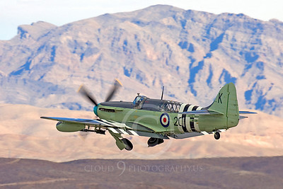 WB - Fairey Firefly 00002 Fairey Firefly taking off at Nellis AFB, by Peter J Mancus