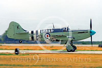 WB - Fairey Firefly 00007 Fairey Firefly British Royal Navy warbird markings by Peter J Mancus