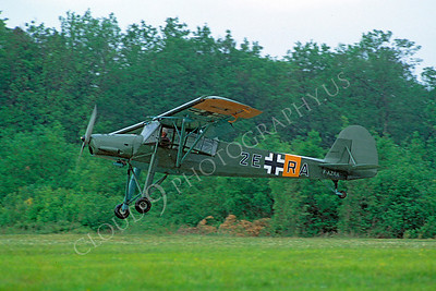 WB - 00002 Fieseler Fi 156 Storch German Air Force by Stephen W D Wolf