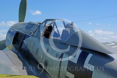 WB - Focke-Wulf Fw 190 00013 Focke-Wulf Fw 190 German World War II fighter warbird by Stephen W D Wolf