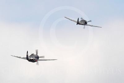 WB - Focke-Wulf Fw 190 00028 An American P-47 Thunderbolt chases a German Focke-Wulf Fw 190 simulating a WWII dogfight, by Peter J Mancus