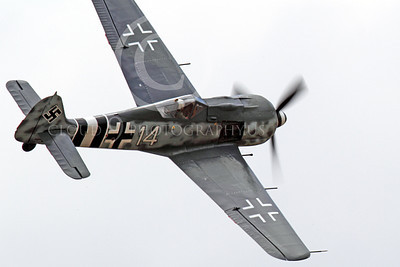 WB - Focke-Wulf Fw 190 00038 What every WWII American fighter pilot wanted to see-an enemy fighter in front of his gus, by Peter J Mancus