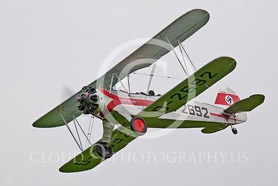 WB-Focke-Wulf Fw 44 Stieglitz 00002 German WWII Luftwaffe by Tony Fairey