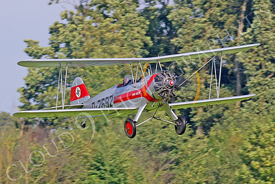 WB - Focke-Wulf Fw 44 Stieglitz D-2692 00001 by Tony Fairey
