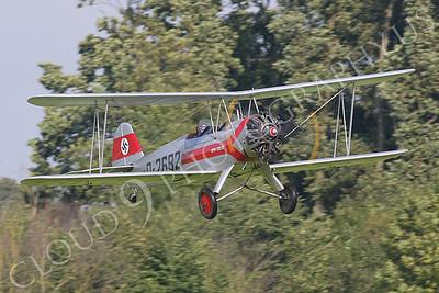 WB - Focke-Wulf Fw 44 Stieglitz 00001 by Tony Fairey