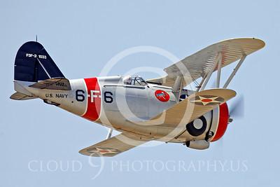 WB - Grumman F3F-2 00022 Grumman F3F-2 by Peter J Mancus