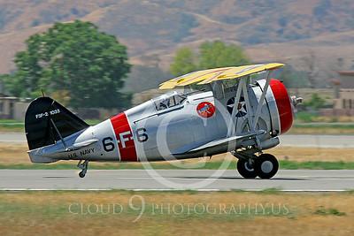 WB-F3F 00003 Grumman F3F US Navy by Peter J Mancus