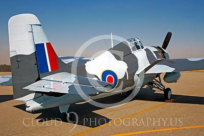 WB - Grumman F4F Wildcat 00003 Grumman F4F Wildcat British Royal Navy warbird markings by Peter J Mancus
