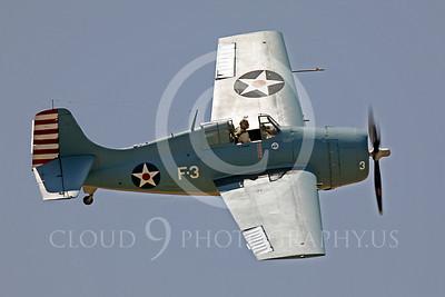 WB - Grumman F4F Wildcat 00016 Grumman F4F Wildcat US Navy warbird markings by Peter J Mancus