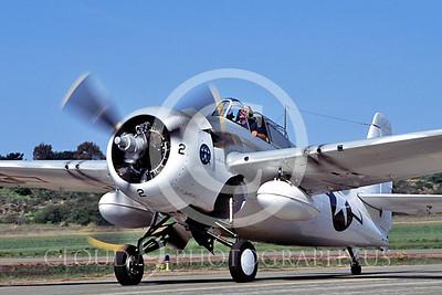 WB - Grumman F4F Wildcat 00007 Grumman F4F Wildcat US Navy warbird markings by Peter J Mancus