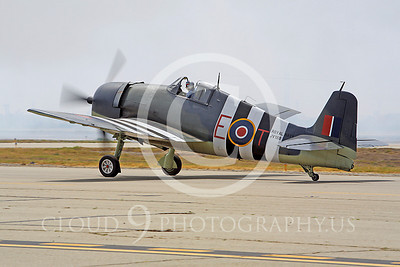 WB - Grumman F6F Hellcat 00005 Grumman F6F Hellcat British Royal Navy warbird markings by Peter J Mancus