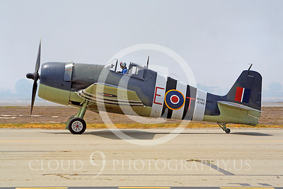 WB - Grumman F6F Hellcat 00033 Grumman F6F Hellcat British Royal Navy warbird markings by Peter J Mancus