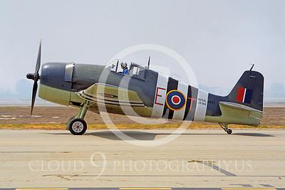 WB - Grumman F6F Hellcat 00033 Grumman F6F Hellcat British Royal Navy warbird markings by Peter J Mancus