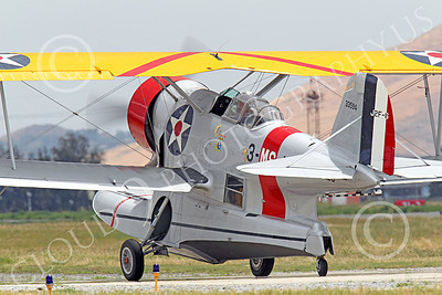 WB - Grumman J2F Duck 00006 A taxing USMC Grumman J2F Duck float plane warbird airplane picture, by Peter J Mancus