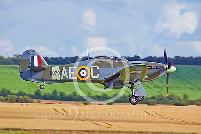WB-Hawker Hurricane 00024 British Royal Air Force by Tony Fairey