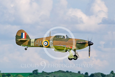 WB-Hawker Hurricane 00002 British Royal Air Force by Tony Fairey