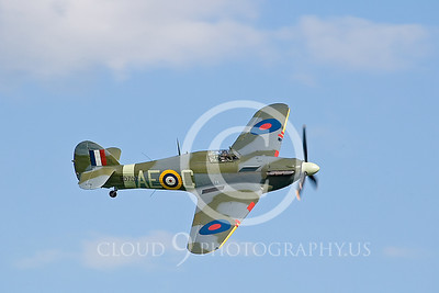 WB-Hawker Hurricane 00004 British Royal Air Force by Tony Fairey