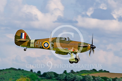 WB-Hawker Hurricane 00036 British Royal Air Force by Tony Fairey