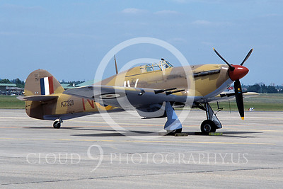 WB - Hawker Hurricane 00013 Hawker Hurricane British RAF warbird markings by Stephen W D Wolf