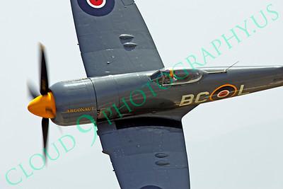 WB - Hawker Sea Fury 00016 Hawker Sea Fury Canadian Armed Forces Korean War era fighter warbird Argonaut by Peter J Mancus