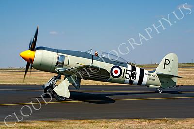 WB - Hawker Sea Fury 00013 Hawker Sea Fury British Royal Navy Korean War era fighter warbird by Peter J Mancus