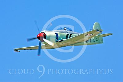 WB - Hawker Sea Fury 00030 Hawker Sea Fury by Peter J Mancus