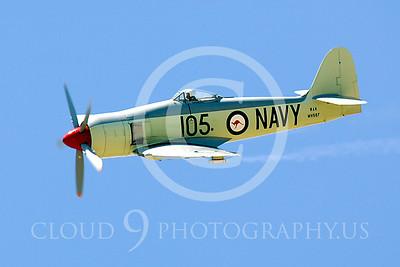 WB - Hawker Sea Fury 00028 Hawker Sea Fury by Peter J Mancus
