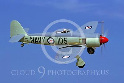 WB - Hawker Sea Fury 00008 Hawker Sea Fury by Stephen W D Wolf