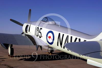 WB - Hawker Sea Fury 00009 Hawker Sea Fury by Peter J Mancus