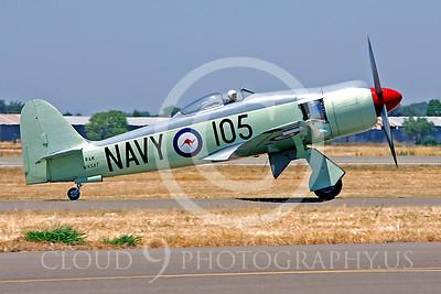 WB - Hawker Sea Fury 00045 Hawker Sea Fury by Peter J Mancus