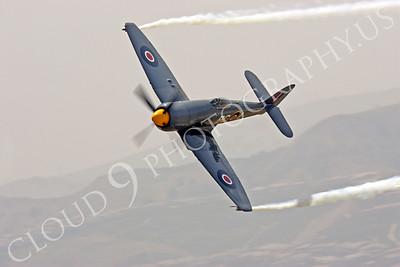 WB - Hawker Sea Fury 00038 Hawker Sea Fury Canadian Armed Forces Korean War era fighter warbird Argonaut by Peter J Mancus