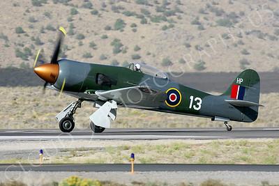 WB - 00001 Hawker Sea Fury by Peter J Mancus