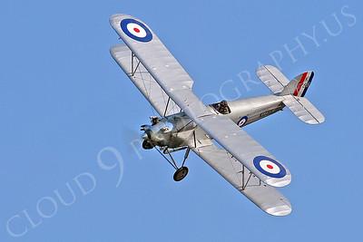 WB - Hawker Tomtit 00008 Hawker Tomtit British RAF by Tony Fairey