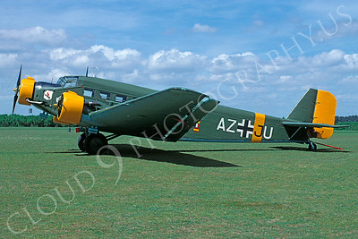 WB - 00001 Junkers Ju-52 German Air Force by Stephen W D Wolf