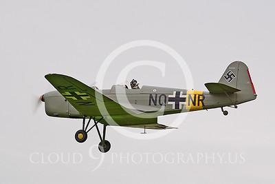 WB--Klemm 35D 00002 German WWII Luftwaffe by Tony Fairey
