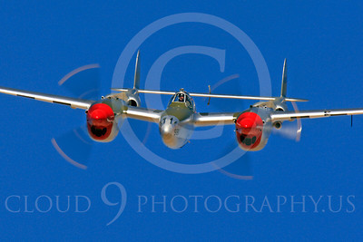 WB - Lockheed P-38 Lightning 00028 Lockheed P-38 Lightning by Peter J Mancus
