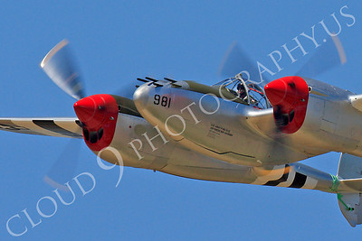 CUNWB 00186 Lockheed P-38 Lightning by Peter J Mancus