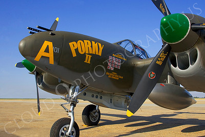 CUNWB 00131 Lockheed P-38 Lightning by Peter J Mancus