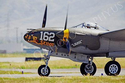 CUNWB 00037 Lockheed P-38 Lightning by Peter J Mancus