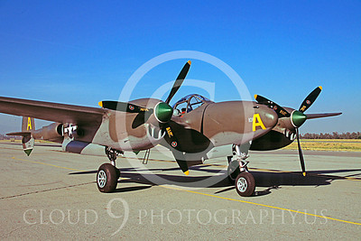WB - Lockheed P-38 Lightning 00023 Lockheed P-38 Lightning by Peter J Mancus