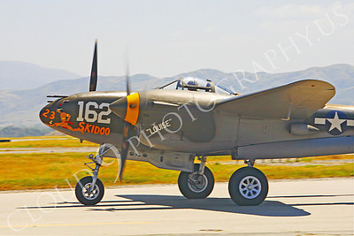 CUNWB 00083 Lockheed P-38 Lightning by Peter J Mancus